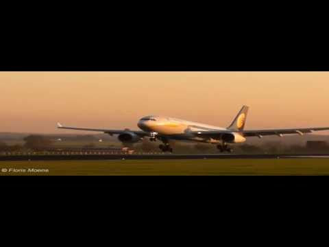 Jet Airways Compilation | Brussels Airport [HD]