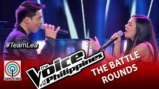 "The Voice of the Philippines Battle Round ""No Air"" by Jem Cubil and Thara Jordana (Season 2)"