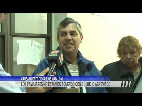 Descontento de familiares de Carlos Mataloni por la pena aplicada a Claudia Vanesa Machado