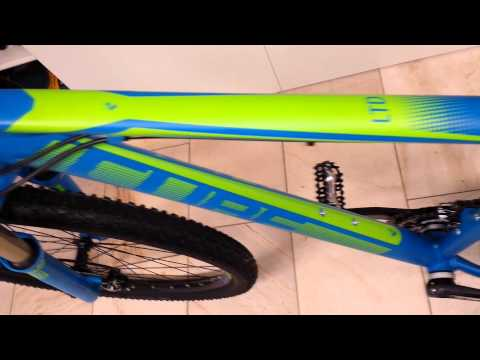 CUBE LTD Race 29 blue`n`green Modell 2014
