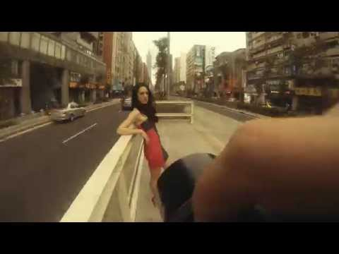Jay Marroquin hits the streets of Taipei, Taiwan for a photoshoot with 2 hot models.