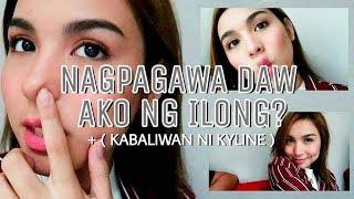 Nagpagawa daw ako ng ilong + (kabaliwan ni Kyline)