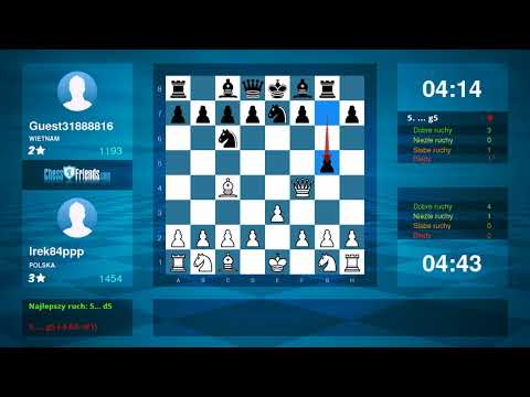 Chess Game Analysis: Irek84ppp Guest31888816 : 10 (By ChessFriends.com)