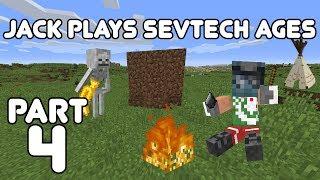Shadow Gems FTW! Jack plays Minecraft: SevTech Ages Part 4