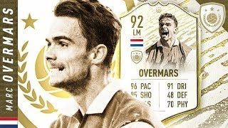 WORTH THE UNLOCK?! 92 ICON SWAPS MOMENTS OVERMARS REVIEW!! FIFA 20 Ultimate Team