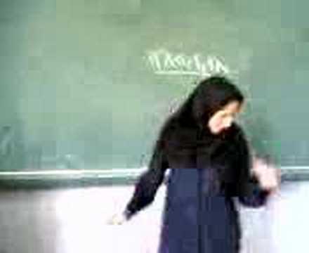 Cikgu Iran  suka menari