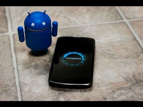 CYANOGENMOD 10.1 ANDROID 4.2  ROM ON SONY ERICSSON LIVE WITH WALKMAN