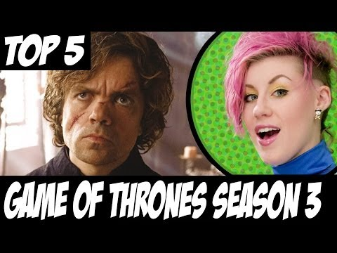 TOP 5 Game of Thrones Changes Book to Show Season 3.
