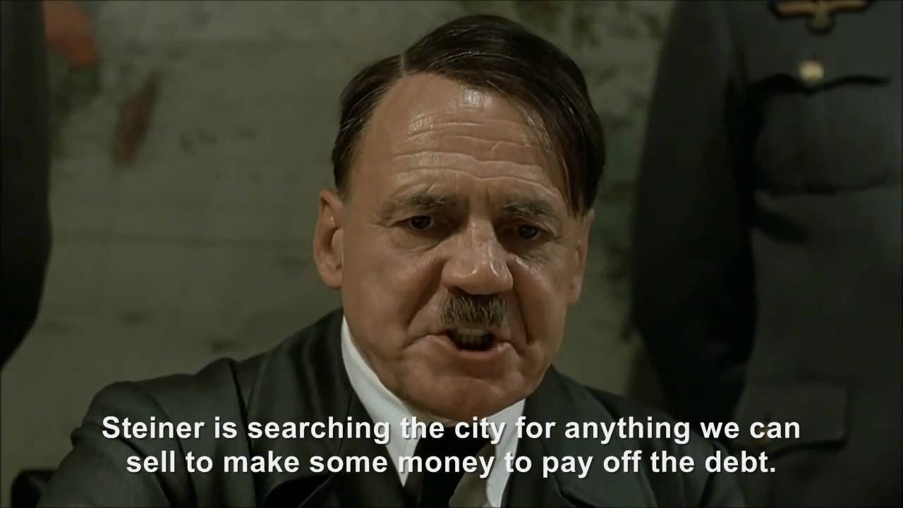 Hitler plans to cut the deficit