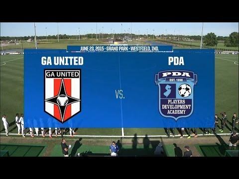 Livestream: 2015 Development Academy Playoffs - U-15/16: Georgia United vs. PDA