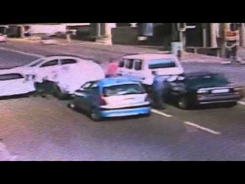 Car Hijacking in the JHB CBD on the 041113