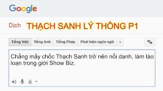 Chị google kể chuyện bựa| #1 Thach Sanh Lý Thông P1