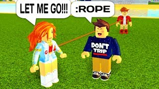 ROPING GOLD DIGGERS TO NOOBS WITH ADMIN COMMANDS IN ROBLOX!