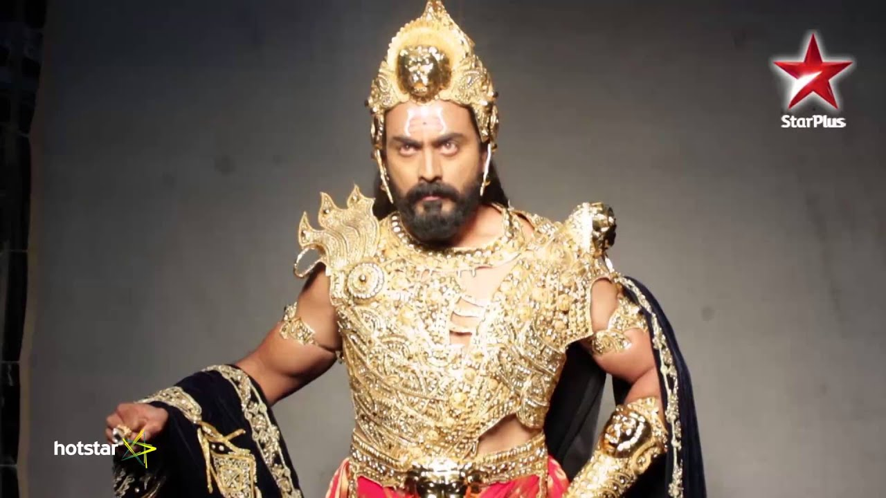 Siya Ke Ram: Making of Raavan's character.