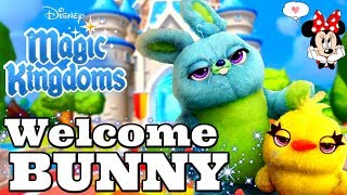 Disney Girl LIVESTREAM! WELCOME BUNNY! Toy Story 4 💥  What Is Coming Next?🐠  Disney Magic Kingdoms