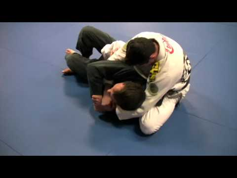 Caio Terra: Taking The Back From Half-Guard Technique Image 1