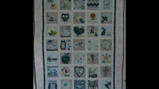 Very Creative Baby Memory Quilt