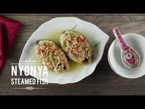 Steam nyonya steamed fish cubie oven panasonic for Steam fish in oven