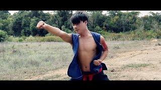 teev ntshav hlub kungfu training scene