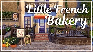 Little French Bakery - The Sims 4 Speed Build