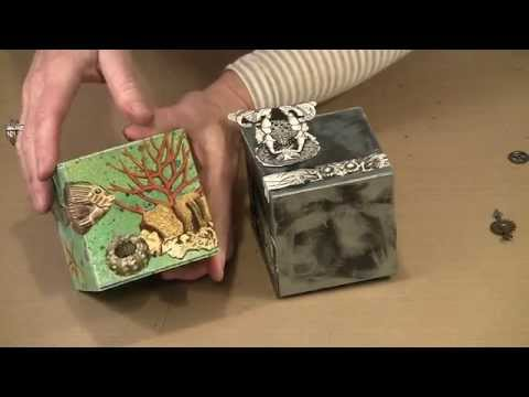 Artist Trading Blocks: Journaling in 3D by Joggles.com