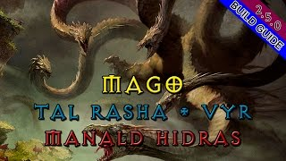 Diablo 3 - Ep 21 - Mago Tal Rasha + Vyr + Manald + Hidras  [S10-2.5.0]