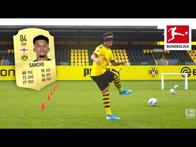 Jadon Sancho amp Co. Showing Off Their REAL Skills - EA Sports FIFA 20 Rating Reveal