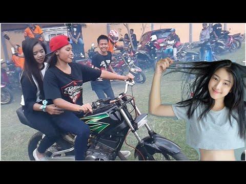 Cewek Touring Rx King NGUOOK Raja Jalanan 135cc Yamaha Motor
