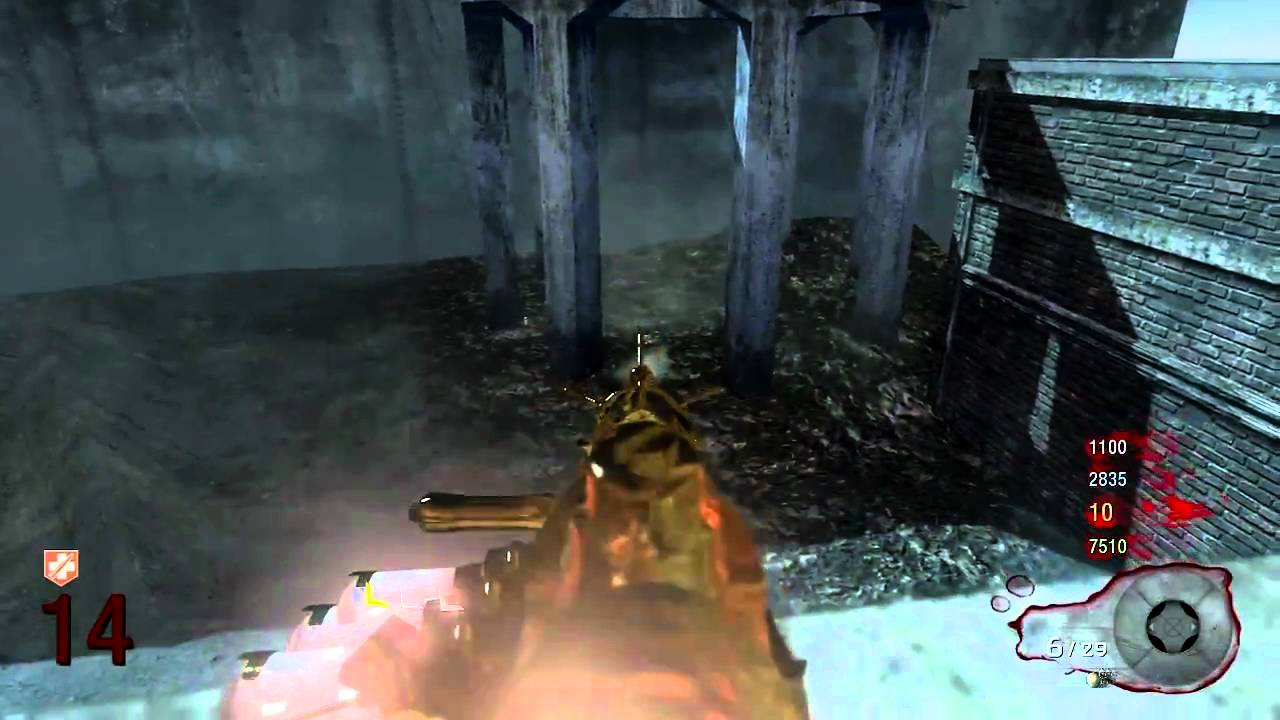Black Ops Zombie Glitches Out Under Der Riese