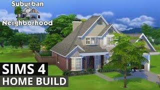The Sims 4 House Building - Suburban Neighborhood Home