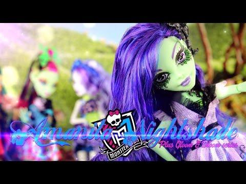Doll Review: Monster High Amanita Nightshade   Gloom & Bloom