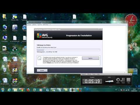 AVG Internet Security 2012 clé d'activation