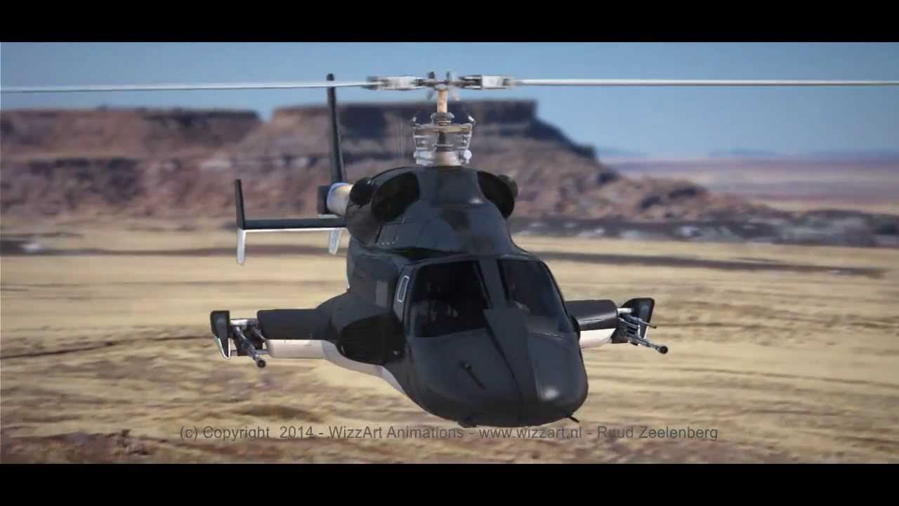 Airwolf - 3D Computer Animated Leader - YouTube