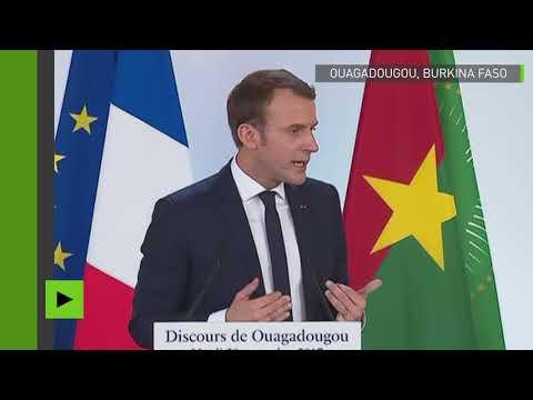 Macron : «Si quelqu'un peut me dire où l'or burkinabè est caché à Paris je suis preneur !»