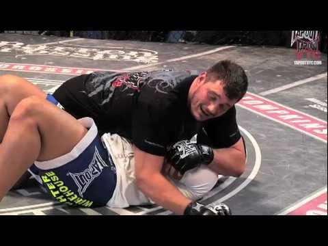 MMA Training: Upside Down Guard Sweep with Matt Mitrione Image 1