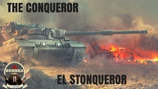 Conqueror Stonqueror World of Tanks Blitz