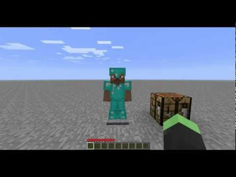 Minecraft Mods - Armor Stand (MC 1.3.1) Music Videos