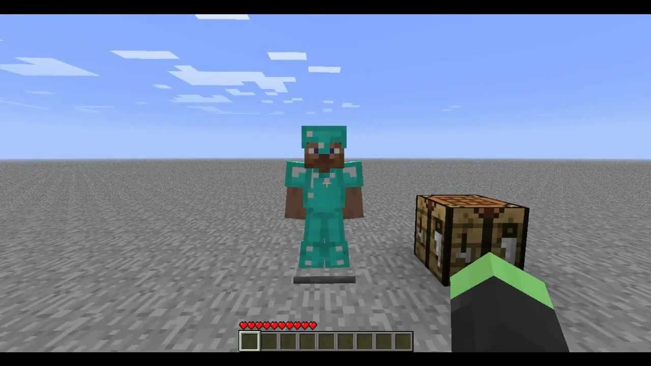 How To Build Armour In Minecraft