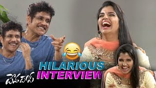 Akkineni Nagarjuna Hilarious Interview | Devadas Movie | Nani | Rashmika | Filmylooks