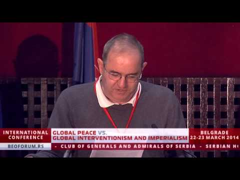PROF. JEAN BRICMONT (BELGIUM) - (Global Peace vs. Global Interventionism and Imperialism)