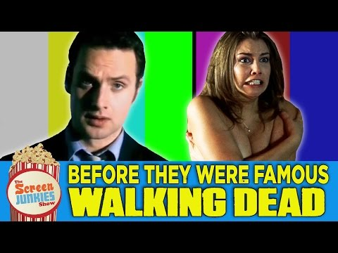 Before They Were Famous: The Walking Dead video