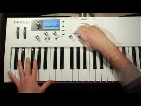 Waldorf Blofeld Keyboard Demo