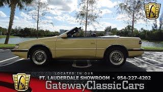 592-FTL 1990 Chrysler TC by Maserati