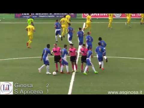 GINOSA-SPORTING APRICENA 2-1 LA SINTESI