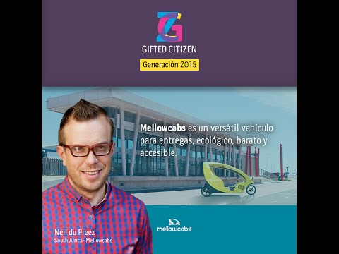 Neil du Preez. Proyecto: Mellowcabs.  South Africa. #GiftedCitizen 2015