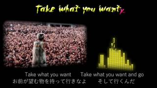 ONE OK ROCK--Take what you want【歌詞・和訳付き】Lyrics