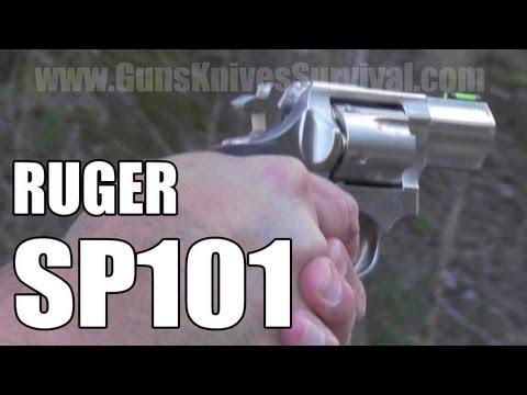 Ruger SP101 .357 Magnum Revolver Range Time