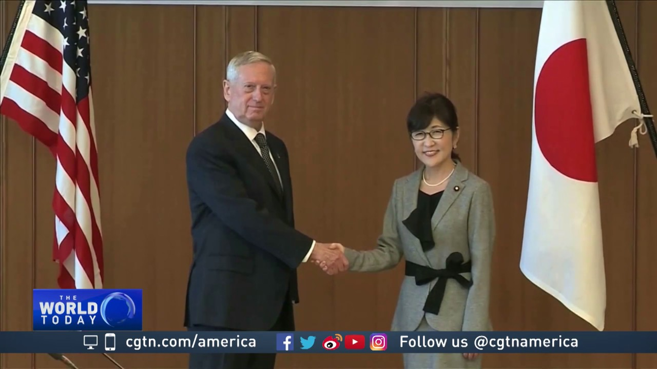 US Defense Secretary James Mattis visits Tokyo