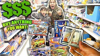 """""""BUY ANYTHING YOU WANT"""" ($10,000 KIDS TOYS)"""