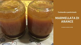 Marmellata light di arance